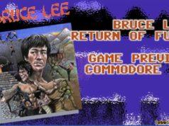 Bruce Lee Commodore 64