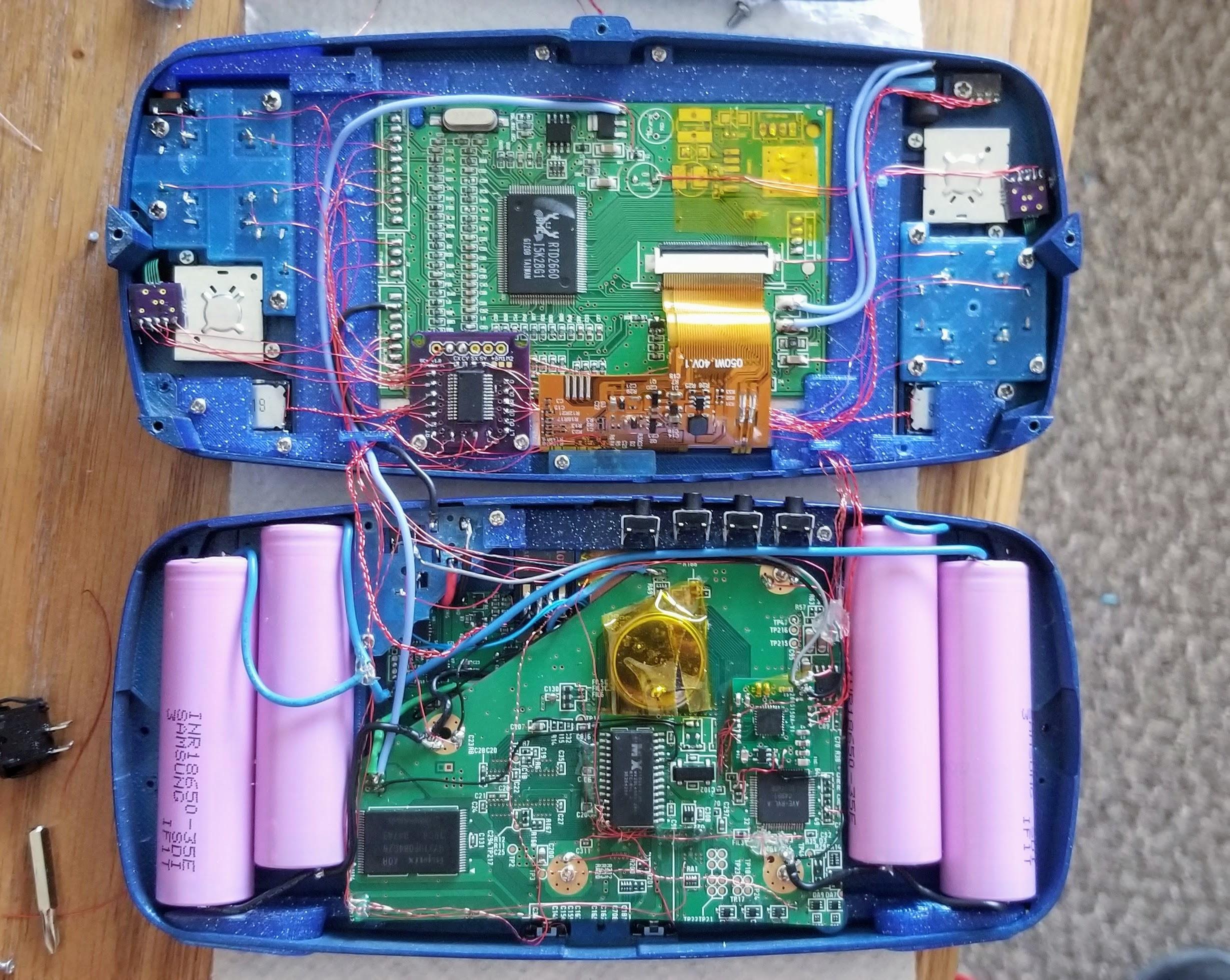 wii e gamecube portatile interno